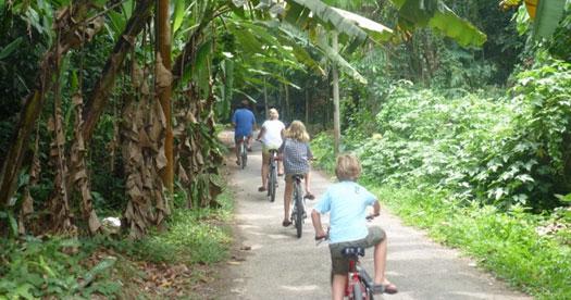 Rondreis Maleisie fietstour met kinderen