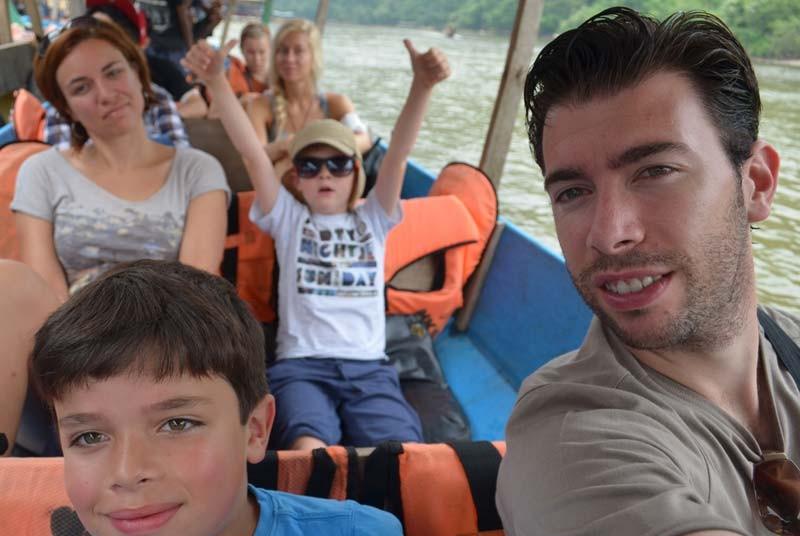 Boot Taman Negara - reizen Maleisie