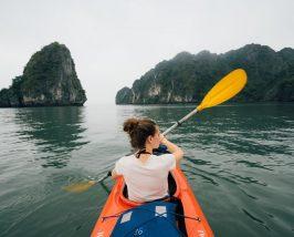 Halong Bay Vietnam - kano