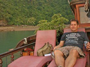 Halong Bay Vietnam - kayak