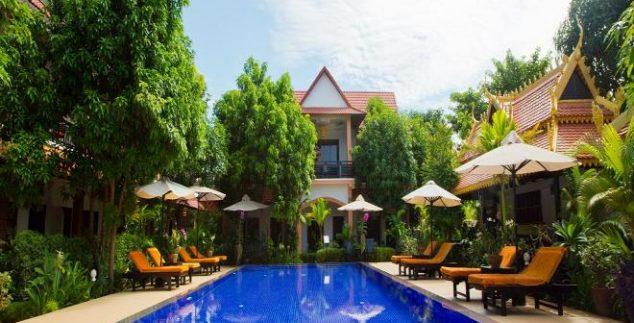 Hotel met zwembad - Siem Reap