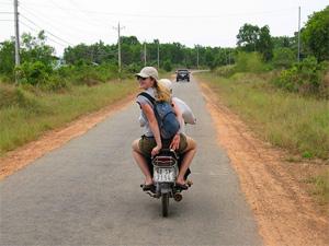 Phu Quoc Vietnam - Scooter