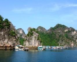 bai tu long bay cong dam vietnam