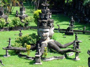 Buddhapark Vientiane - Indochina rondreis