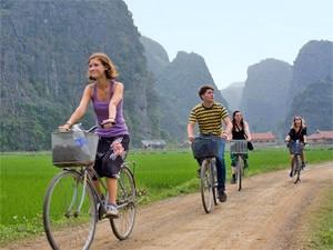 Ninh Binh Vietnam fietsen