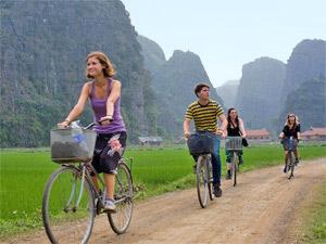 Ninh Binh Vietnam - fietsen