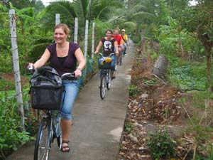 Reizen Vietnam - Bangkok fietsen