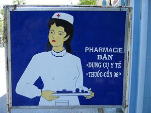 Gezondheid Vietnam - Apotheek