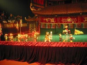 Vietnam Hanoi - waterpoppen theater