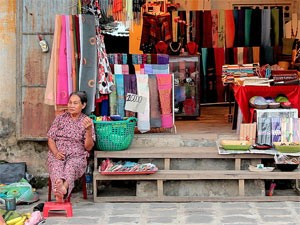 Hoi An Vietnam - WInkel en local
