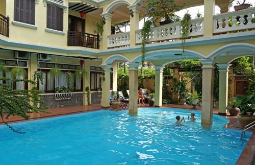 Hoi An Vietnam - Zwembad hotel