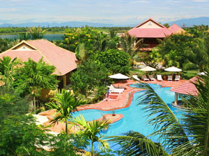 Hoi An Vietnam - Zwembad bij hotel