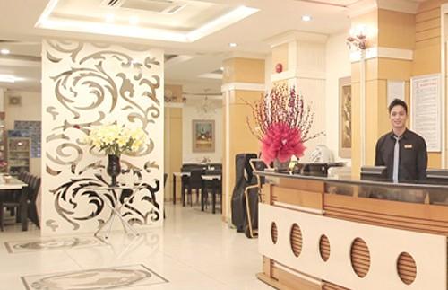 Ho Chi Minh City Vietnam - Hotelreceptie