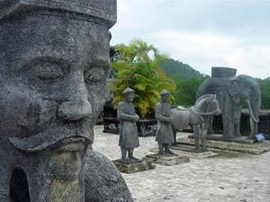 Vietnam rondreis kort - Hué heersers