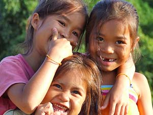 Laos - Lokale kinderen