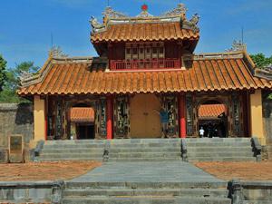 koninklijke tijden in hue vietnam