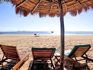 Vietnam-rondreis - Strand ligbed