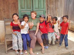 Mai Chau Vietnam - kinderen