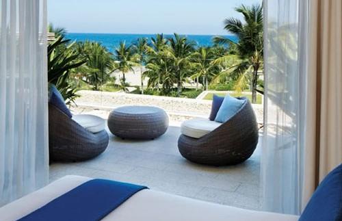 Nha Trang - Uitzicht hotelkamer