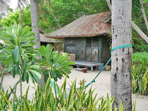 Overnachten Vietnam - Palmeneiland accommodatie