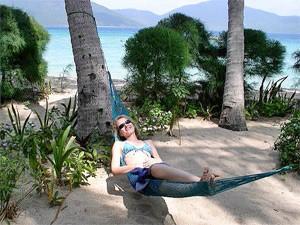 Palmeneiland Vietnam - Hangmat