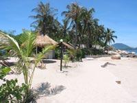 Reisverslagen Vietnam - Palmeneiland strand
