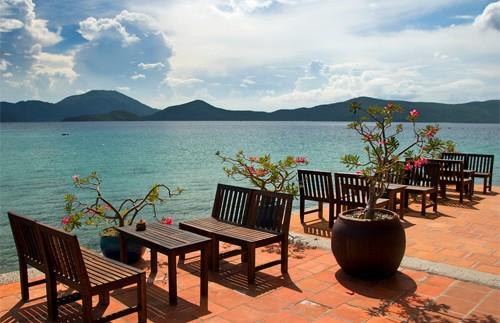 Vietnam Palmeneiland - Terras