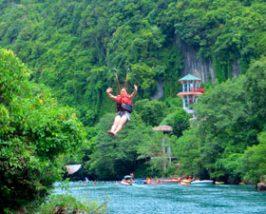 Ziplinen - Phong Nha National Park