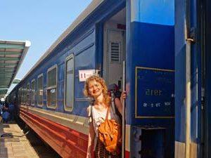 Hanoi Vietnam - Treinstation