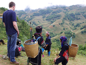 Sapa Hmong trekking in Vietnam