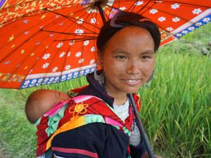 Vietnam Sapa trekking - local