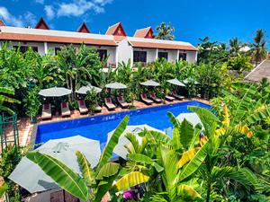 siem reap zwembad cambodja