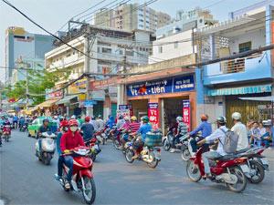 Saigon Vietnam - Straatbeeld