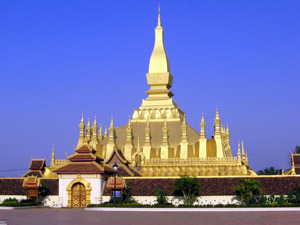 Thay Luang tempel Laos - Vietnam-reis