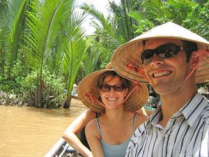 Vietnam rondreis kort - Mekong varen