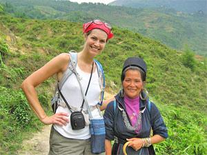 Vietnam reizen - sapa trekking