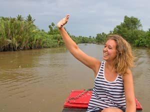 Mekong Delta Vietnam varen