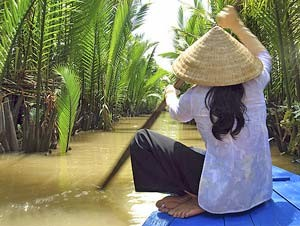 Vietnam Sapa - Mekong varen