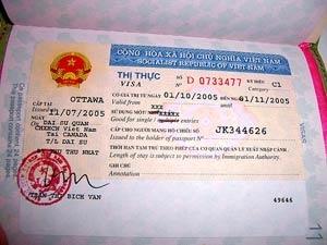 Visum Vietnam ambassade