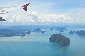 Vliegtuig naar Vietnam