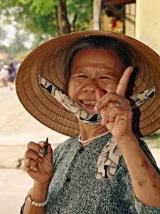 Praktisch Vietnam - Hoi An vrouwtje
