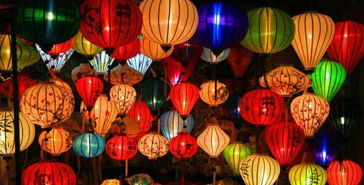 Lampionnen Vietnam reizen