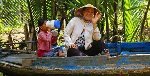 Vakantie Vietnam: Mekong local