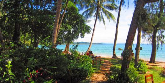Vietnam reis rustig strand