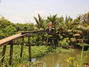 fietsen Vietnam homestay