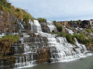 Waterval Vietnam Pongour - bewerkt