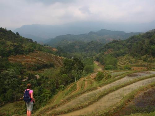 Huang Su Phi trekking