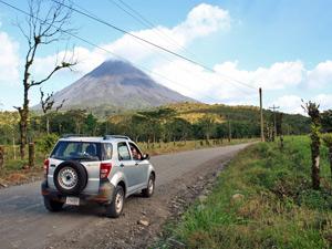 Rincon National park Costa Rica Kids - ondereweg met huurauto