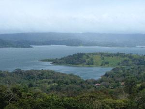 Costa rica arenal meer