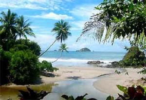 strand uitzicht costa rica